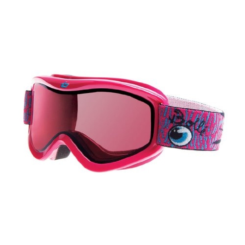 Bolle Amp Snow Goggles (Pink Frame, Vermillon), Outdoor Stuffs
