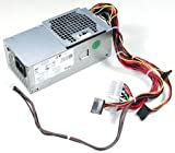 Genuine Dell OEM 250 Watt Power Supply Unit for Inspiron 530s, 620s, Vostro 220s Slim Model, Part Number: 3WFNF AC250NS-