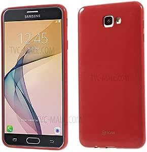Samsung Galaxy J7 Prime Mate Case Back Cover Flexi-RED