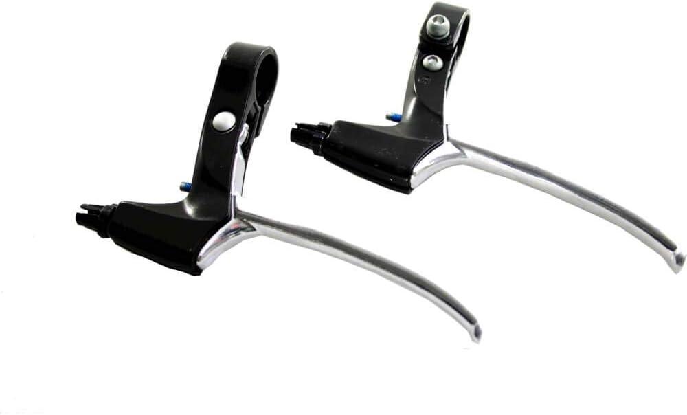 Saccon bremsgriffset Rollenbremse Bremsbremse Bremse 4-Finger-Bremse schwarz//Silber