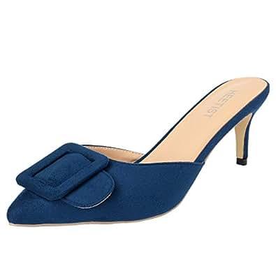 HEETIST HEE66001 - Mocasines de Ante para Mujer: Amazon.es: Zapatos y complementos