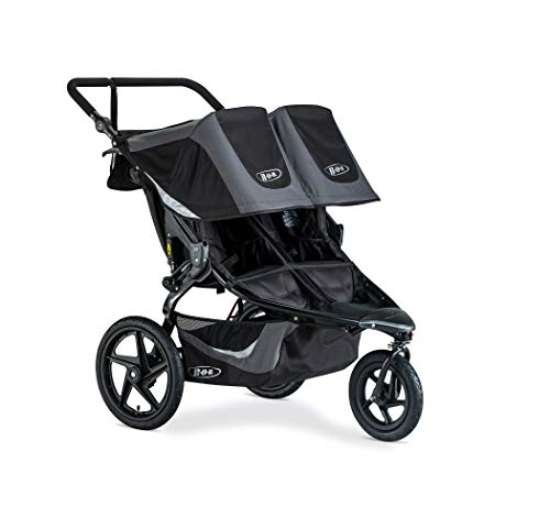 BOB Revolution Flex 3.0 Duallie Jogging Stroller, Graphite Black