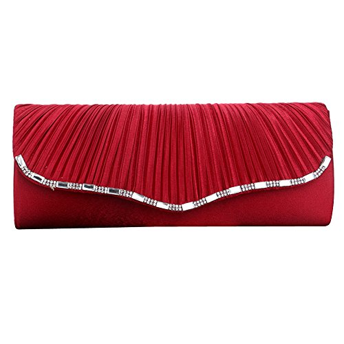 evening pour Pochette Multi Red color clutch femme UNYU gC6wq6z