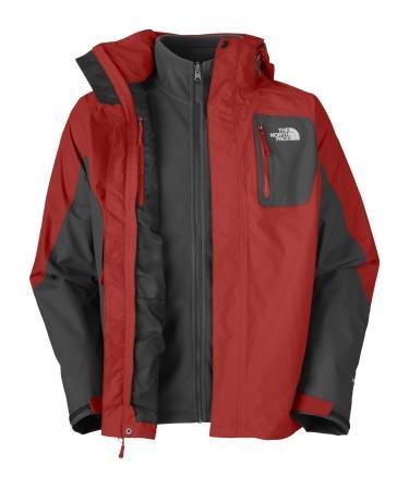 Triclimate Atlas Jacket Men Red / Black (XXL)