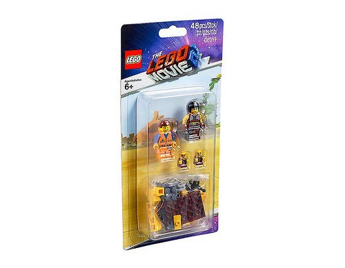 Lego Movie 2 Minifigure Pack 853865 Sewer Babies, Emmet and Sharkira 48 Pieces