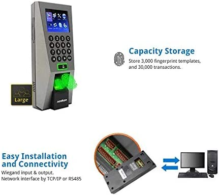 F18 Fingerprint Access Controller by ZKTeco, Time Attendance, ZK-F
