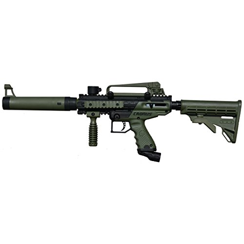 Tippmann Cronus Tactical Semi-Automatic 68 Caliber Olive Paintball Marker (Gun Free Paintball)