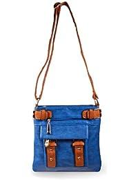 Belted Pocket Cross Body Handbag