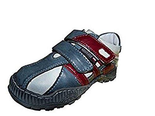 Kristofer - Zapatillas de Piel para niño azul azul