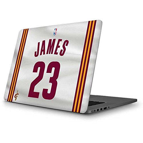 Skinit NBA Cleveland Cavaliers MacBook Pro 13 (2013-15 Retina Display) Skin - LeBron James #23 Cleveland Cavaliers Home Jersey Design - Ultra Thin, Lightweight Vinyl Decal Protection by Skinit