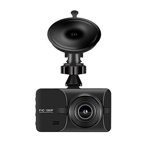 Car Dash Cam,Dotca DS06 Mini 1080P FHD DVR Camera With 3″Screen 170 Degree Wide Angle Video Camrea Recording Support Night Vision/Motion Detection/Parking Monitor and G-sensor