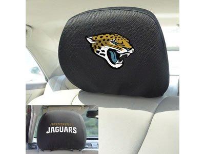 FANMATS 12502 Head Rest Cover NFL (Jacksonville Jaguars)