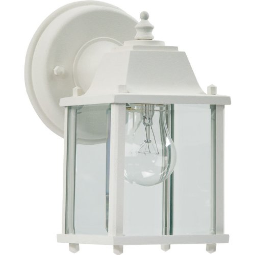 Quorum International 780-6 Wall Lanterns with Shades, White by Quorum (Image #1)