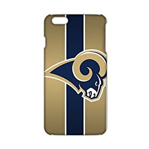 SHOWER 2015 New Arrival st louis rams logo 3D Phone Case for iphone 6 plus