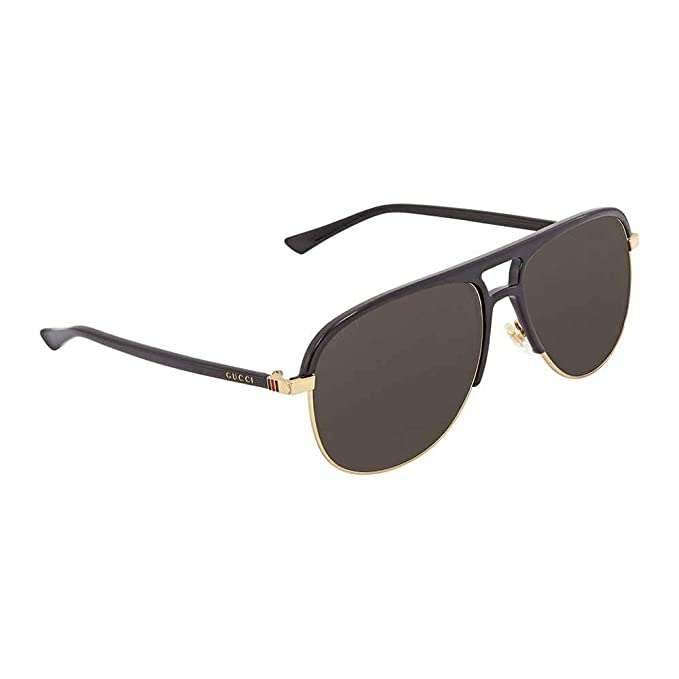 b0fea654804 Gucci Grey Aviator Sunglasses Gg0292S 001 60  Amazon.ca  Clothing    Accessories