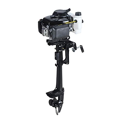 SEA DOG WATER SPORTS 4 Stroke 4.0HP Superior Engine Outboard Motor for Inflatable Kayak Fishing (Johnson 4 Stroke Outboard Motors For Sale)