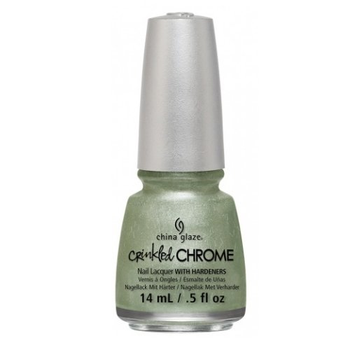 (3 Pack) CHINA GLAZE Nail Lacquer - Crinkled Chrome - Wrinkling the Sheets