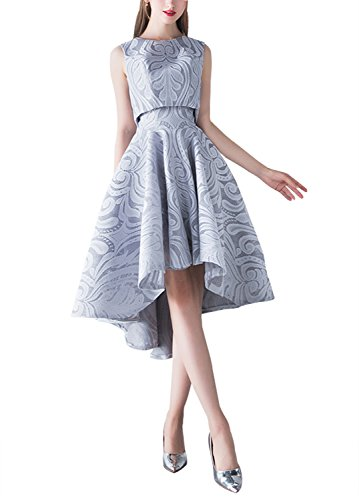 2 Piece Strapless Wedding Dress - 3