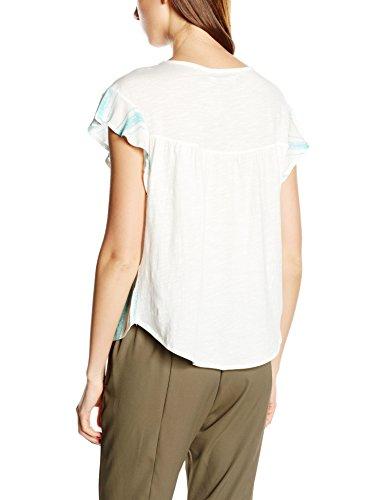 Cortefiel CTA P/P Rayas, Camiseta para Mujer GREENS