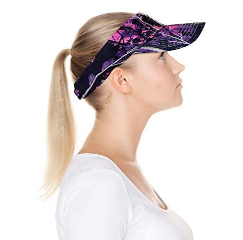 Muddy Girl Pink Camo Visor Cap with Wicking Band for $<!--$14.99-->