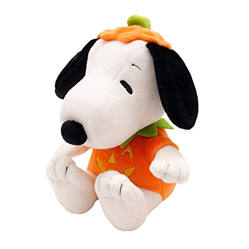 Hallmark Halloween Plush Snoopy Stuffed Animal in A Pumpkin Costume -