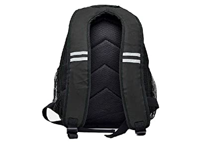 Heine Backpack Diaper Bag with Insulated Bottle Pocket, Black - Eco-friendly