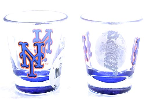 Boelter Brand New York Mets 2 Oz. Elite Collectible Shot Glass (2 Pack)