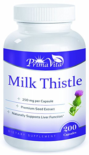 Milk Thistle Premium Seed 30.1 Extract, (Silybum), 250mg per Capsule, (200/Container For Sale