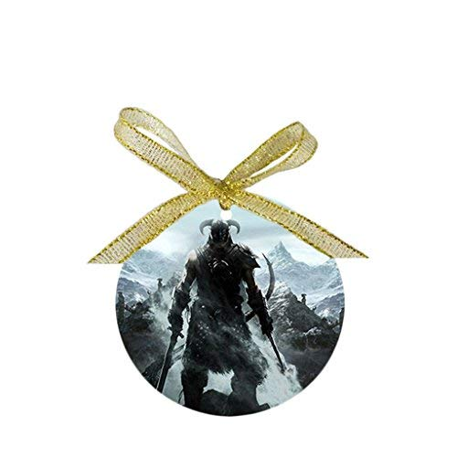 Jared Personality Skyrim Design Round Porcelain Ornaments BH438011 -