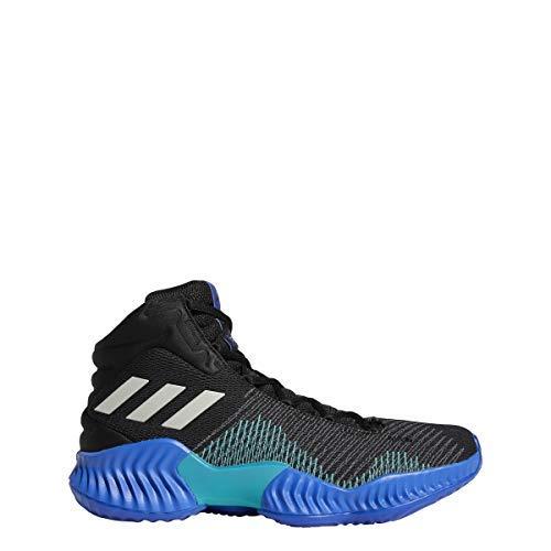 adidas Men's Pro Bounce 2018 Basketball Shoe, White/Orange,