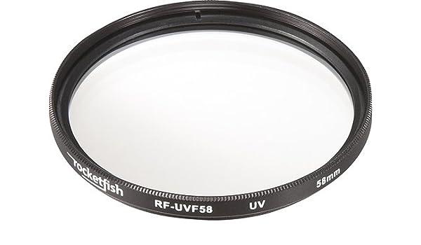 UV 58MM LENS FILTER ULTRAVIOLET IMPROVE IMAGE CLARITY RF-UVF58