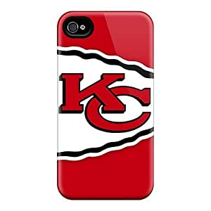 High Quality Kansas City Chiefs Cases For Iphone 4/4s