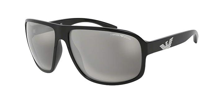 Emporio Armani 0EA4130 Gafas de sol, Black, 63 para Hombre ...