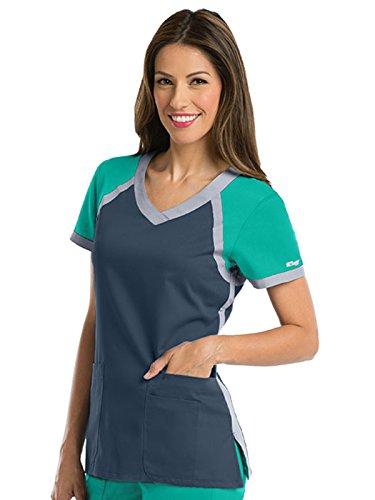 Greys Anatomy Active Womens Tri Color