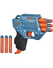Nerf Elite 2.0 Trio SD-3 Blaster – Includes 6 Official Nerf Darts – 3-Barrel Blasting – Tactical Rail For Customising Capability