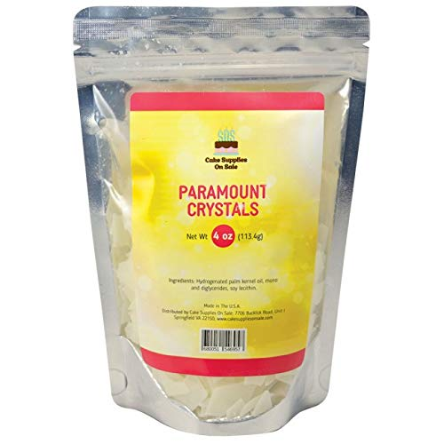 Paramount Crystals 4 oz (Best Candy Coating For Cake Pops)