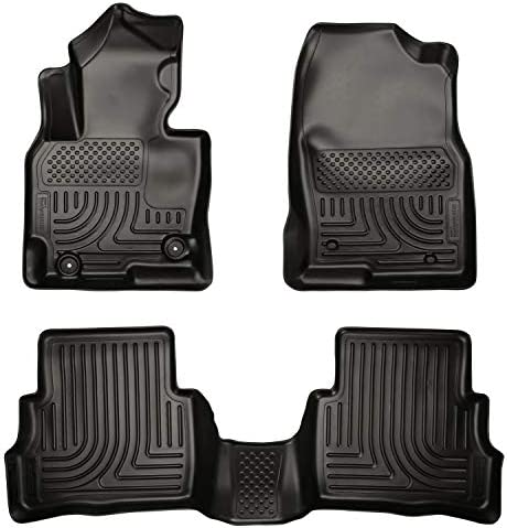 Husky Liners 99731 Fits 2013-16 Mazda CX-5 Weatherbeater Front & 2nd Seat Floor Mats , Black