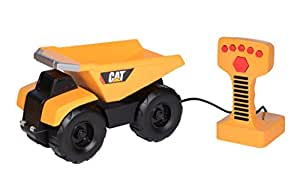 "Toy State Caterpillar 9"" Remote Control Dump Truck with Lights and Sounds (Styles May Vary)"