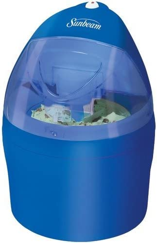 Sunbeam GC8101-BLS 1-Quart Gel Canister Ice Cream Maker Blue