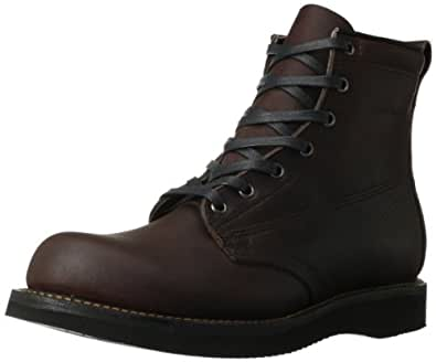 Broken Homme Men's James Lace-Up Boot,Oxblood,8.5 M US