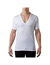 Thompson Tee Hydro-Shield Sweat Proof - Original Fit - Men's Deep V-neck Undershirt
