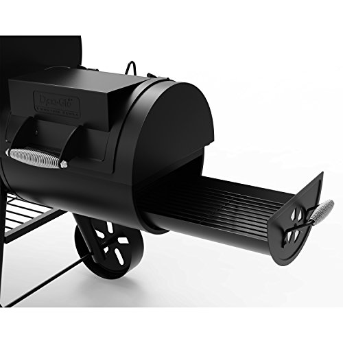 Dyna-Glo Signature Series DGSS962CBO-D Barrel Charcoal Grill Side Firebox