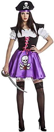 Disfraz de Pirata Lila para Mujer - XL: Amazon.es: Juguetes y juegos