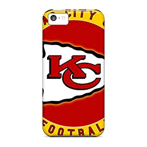 New Snap-on Buyphonecases Skin Case Cover Compatible With Iphone 5c- Kansas City Chiefs