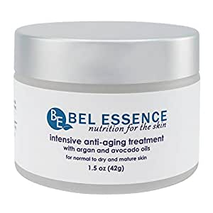 Bel Essence Intensive Anti-Wrinkle and Anti-Aging Treatment Facial Lift Skin Care Formula Cream, 1.5 Ounce