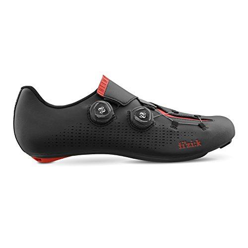 間違っている懐疑論ページFizik(フィジーク) INFINITO R1 Men's Road Cycling Shoes - Black/Red [Size 39~44EUR] (43 EUR [27.7cm]) [並行輸入品]
