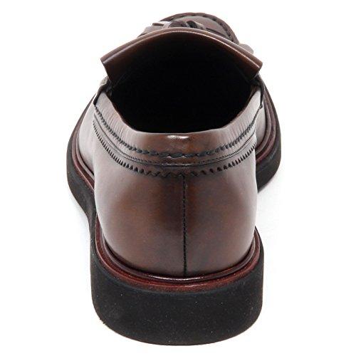 Loafer Shoe Brown Scarpe Mocassino Marrone Man Effect Uomo Vintage Tod's E7554 qx0CP4w