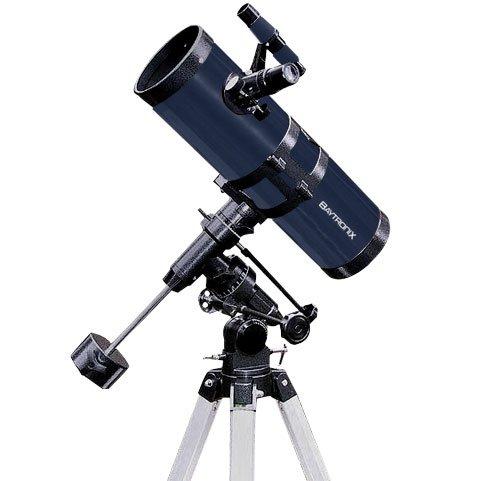 "TwinStar Blue 4.5"" Reflector Telescope Fast f/4.4 EQ Mount"