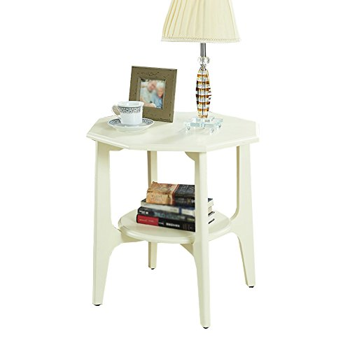 XXHDYR Marble Small Side Table American Sofa Side Simple Household Coffee Table Creative Corner Several Living Room Coffee Table Folding Table (Color : B)