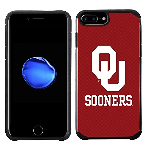 - Prime Brands Group Textured Team Color Cell Phone Case for Apple iPhone 8 Plus/7 Plus/6S Plus/6 Plus - NCAA Licensed The University of Oklahoma Sooners